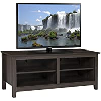 Best Choice Products Wooden Entertainment Center TV Stand Storage Media Console- For TV Screens Up To 60""
