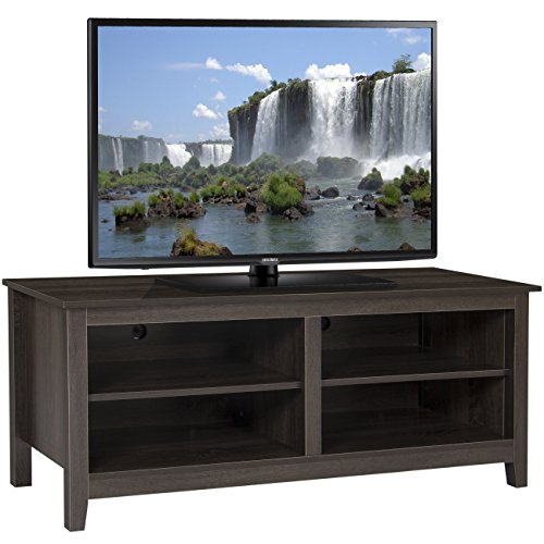 Best Choice Products Wooden Entertainment Center TV Stand Storage Media Console- For TV Screens Up To 60