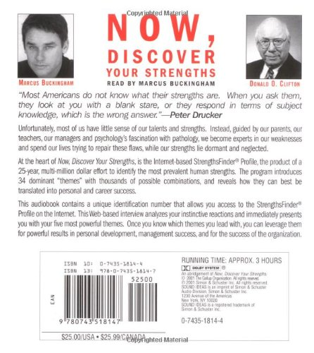 now discover your strengths marcus buckingham free download