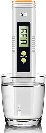 Digital pH Meter, Accurate to 0.01 with 0-14 Measurement Range pH