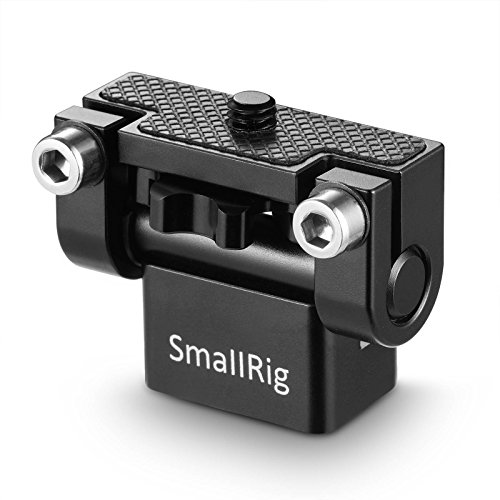 SMALLRIG Monitor Holder Mount for Camera Field Monitors, Friction Up to 180° - -