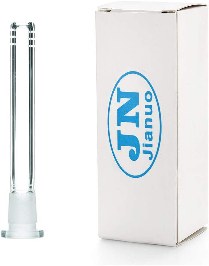 Jianuo 18mm by 14mm Stem Clear Scientic Glass Tube Adapter 3.5 inch