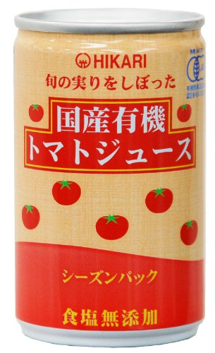 160gX30 this domestic organic tomato juice season pack salt additive-free targeted harvest of light food season by Light food