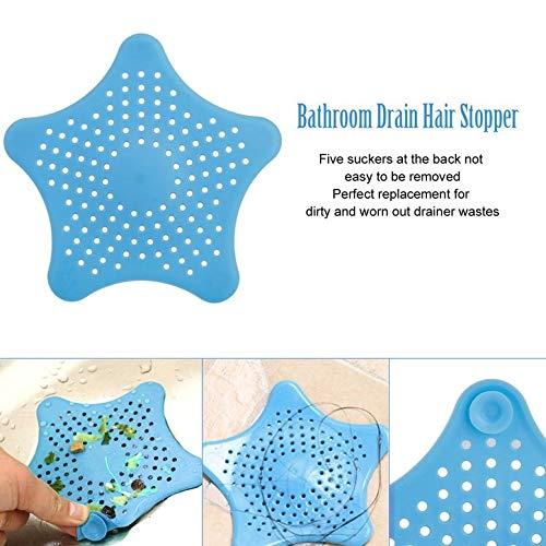 Star Shape Plastica Cucina Mint Plan Bagno Doccia Drain Cover Rifiuti Lavello Setaccio Filtro Capelli Catcher Casa Gadget Cesto