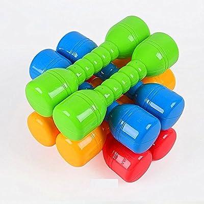 Minibaby Kids Toys Fitness Equipment Kindergarten Sports Dumbbells Set: Toys & Games