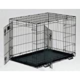 """Midwest Life Stages Double Door Dog Crate 36"""" x 24"""" x 27"""" Midwest"""