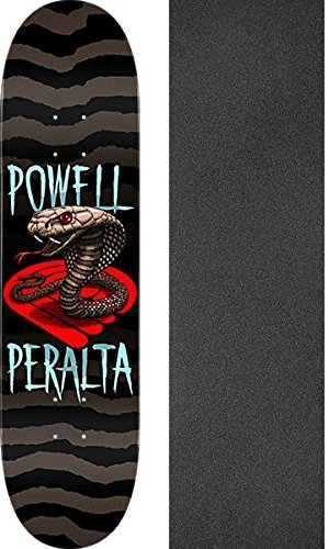 Powell PeraltaコブラスケートボードDeck – 8.25