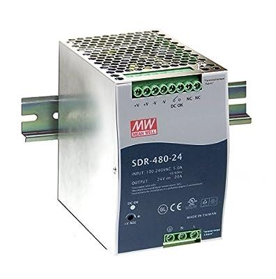DIN Rail Power Supplies 480W 48V 10A W/PFC Function