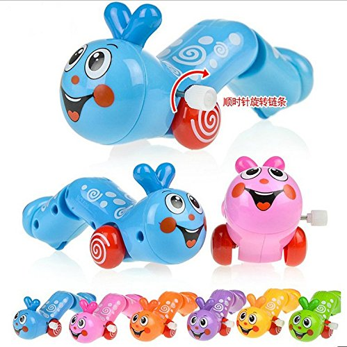 6pcs puzzle infants and young children the joy of insects crawling caterpillar crawling baby on the chain winding movement