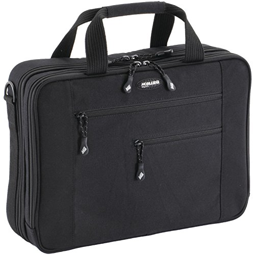 - Mobile Edge Black Eco-Friendly Laptop, Chromebook, Mac, Briefcase 16 Inch PC / 17 Inch Mac - Cotton Canvas for Men, Women, Business, Students MECBC1