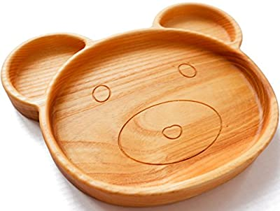 Wooden Plates - Baby Plate - Kids Plate - Dinner Dishes - Children Plate Feeding - Natural Wood Plate - Safe Eco friendly Plate