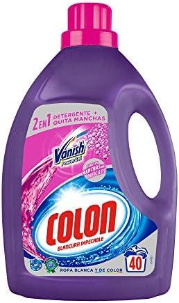 Colon Vanish Powergel - Detergente para lavadora con quitamanchas ...