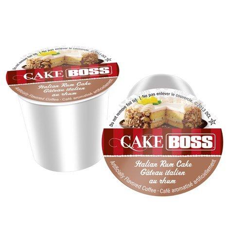 - Cake Boss SNCB5242-96 Italian Rum Cake Coffee - 96 Count