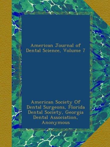 Download American Journal of Dental Science, Volume 7 ebook