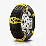 MIAO Coupe / SUV Universal Tires Snow Emergency Thickening TPU Anti-Skid Chain Eight-Piece Suit