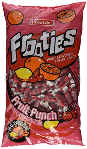 Frooties 360 Piece Bag Fruit Punch (Best Candy To Throw In A Parade)