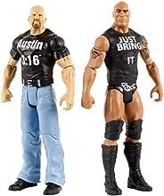 "WWE Tough Talkers The Rock & Steve Austin Figure, 6"""