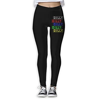 DDCYOGA DILLY DILLY Women's Stretch Boot Leg Yoga Pants Exercise Gym Jogger Pants For Girls