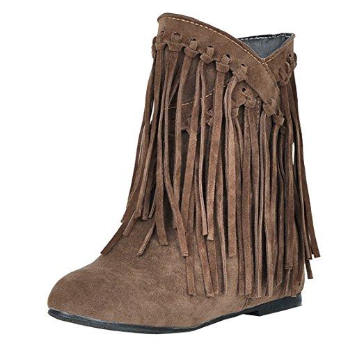 Brown AIYOUMEI Women's Boot Women's Classic AIYOUMEI Classic Classic AIYOUMEI Boot Women's Brown HPqTxHd6n