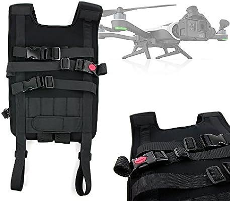DURAGADGET Mochila/Arnés Ajustable para tranporte de Dron GoPro ...