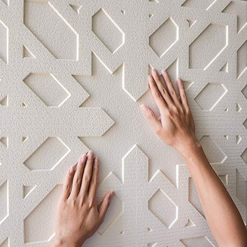 WOCACHI Wall Stickers Decals 3D Brick Wall Sticker Self-Adhesive Foam Wallpaper Panels Room Decal Art Mural Wallpaper Peel & Stick Removable Room Decoration Nursery ()
