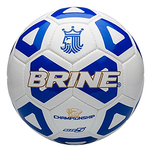 Brine Championship 2014 Soccer Ball (Royal, 5) (Brine Championship Soccer Ball)