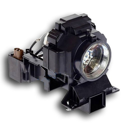 Image of AmpacElectronics 003-120483-01 / DT-01001 Replacement Lamp with Housing for Christie Digital Projectors Lamps