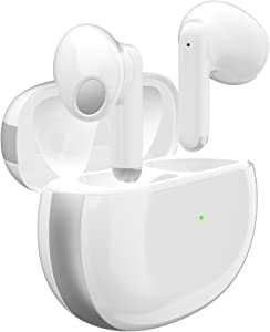 Wireless Earbuds Air podswireless Bluetooth 5.1 Fast Charging Smart Touch 3D Stereo Earbuds Noise Cancelling Bluetooth Headphones IPX6 Waterproof Sports Earbuds,for iPhone/Android/Samsung Earbuds