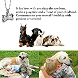 Ashes Necklaces for Women Dog Bone Necklace Jewelry