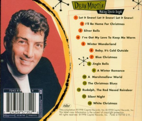 Dean martin christmas songs list