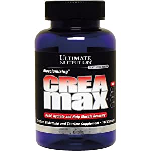 Ultimate Nutrition  Biovolumizing Crea/Max Capsules, 1000 mg, 144-Count Bottles