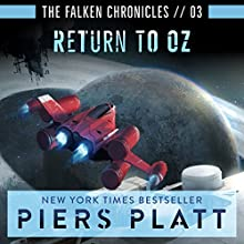 Return to Oz: The Falken Chronicles, Book 3 Audiobook by Piers Platt Narrated by James Fouhey