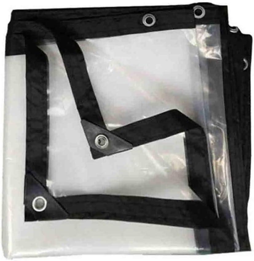Lámina De Polietileno Transparente Gruesa Lona Impermeable Cubierta De Lluvia Gruesa Al Aire Libre Ventana De Lona Ventana De Protección De Lona Tienda Resistencia Al Desgarro Aislamiento
