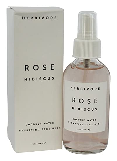Amazoncom Herbivore Botanicals Rose Hibiscus Hydrating Face Mist