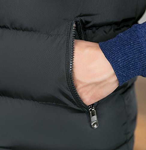 Packable Down Men Hot Puffer Outdoor Black UK Vest Brd Vest Jacket cqZWTWaFP
