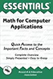 Math for Computer Applications, Research & Education Association Editors, 0878913149