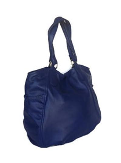 Fgalaze Indigo Blue Leather Tote b5288c37226a9