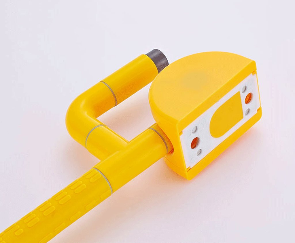 Elderly toilet armrests Accessible bathroom foldable overturned safety handrail with spring ( Color : Yellow ) by LI SHI XIANG SHOP (Image #5)