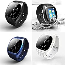 RWATCH® Luxury M26 Smart Watch Phone Bluetooth Smartwatch Android For iphone 6 6plus 5c 5s 5 HTC LG SONY Sumsun Blue