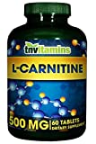 L Carnitine 500 Mg. - 60 Tablets