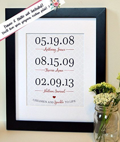 mothers-day-gift-gift-for-mom-children-add-sparkle-to-life-kids-birthdays-dates-print