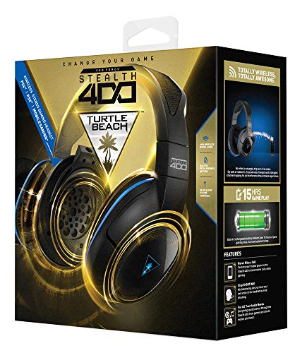 Turtle Beach - Ear Force Stealth 400 Fully Wireless Gaming Headset - PS4 (Discontinued by Manufacturer)]()