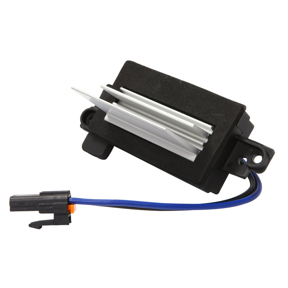 G008R Upgraded Design Heating and Air Conditioning Blower Motor Resistor Module for Chevy Silverado Tahoe Suburban GMC Sierra Yukon ( Replaces# 4P1516 MT1805 RU-631 JA1639 BMR34 )