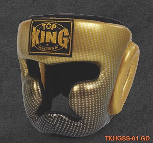 トップキング TOP KING 金 キックボクシング ヘッドギア スーパースター KING ヘッドギア 金 Sサイズ B00RB9M358, 神辺町:48772378 --- capela.dominiotemporario.com