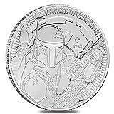 2020 NU 1 oz Niue Silver $2 Star Wars Boba Fett