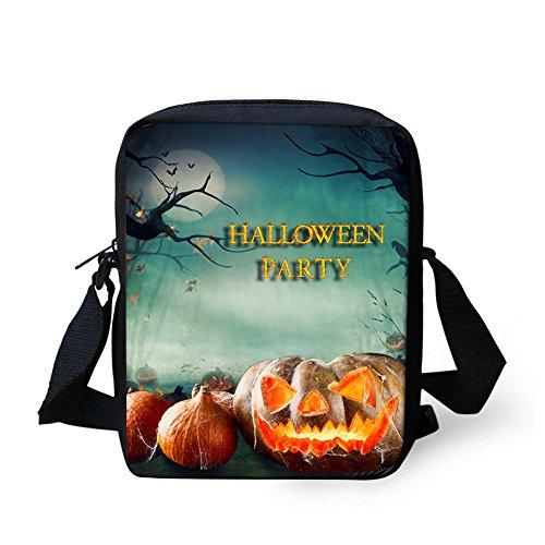 Bigcardesigns Closer Messenger body Handbag Sling Halloween 4 Cross Pattern Purse for Designs Bag Gifts Kids Small Zipper EqrwE1z