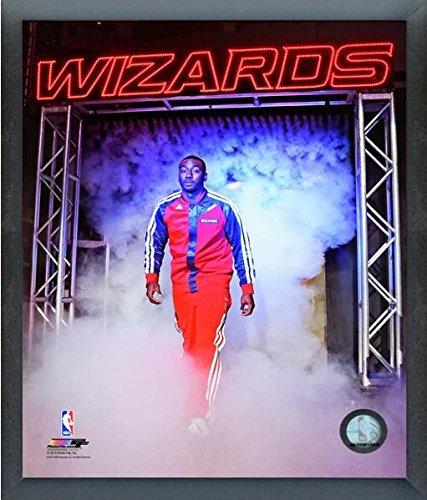 "John Wall Washington Wizards 2013-2014 NBA Action Photo (Size: 12"" x 15"") Framed"