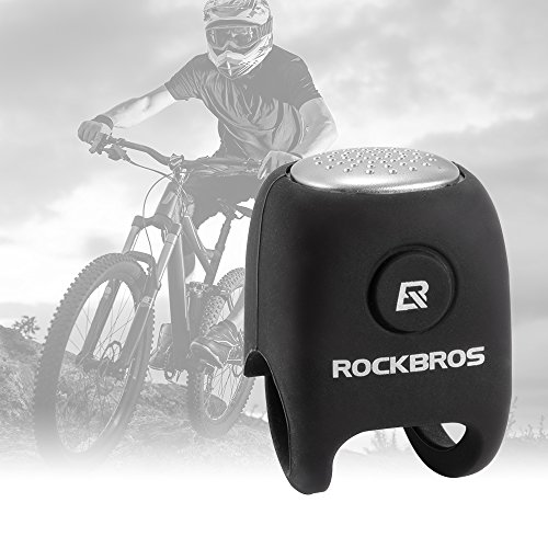 XCSOURCE ROCKBROS Ultra-loud Bicycle Bell Bike Electric Ring Horn Safety Cycling Alarm Handlebar Mount Clear Loud Warning Bell with Silicone Case CS541 by XCSOURCE (Image #2)