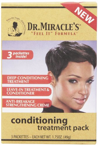 Dr. Miracle's Deep Conditioning Treatment Pack, 1.75 Ounce (Dr Miracle Hair Growth Before And After)