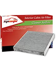 EPAuto CP743 (CF10743) Replacement for Chrysler/Dodge/Infiniti/Nissan/Volkswagen Premium Cabin Air Filter includes Activated Carbon
